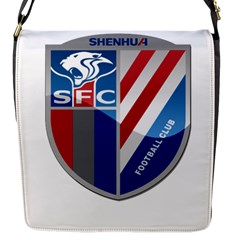 Shanghai Greenland Shenhua F C  Flap Messenger Bag (s) by Valentinaart