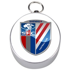 Shanghai Greenland Shenhua F C  Silver Compasses by Valentinaart