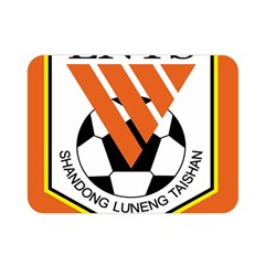 Shandong Luneng Taishan F C  Double Sided Flano Blanket (mini)  by Valentinaart