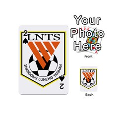 Shandong Luneng Taishan F C  Playing Cards 54 (mini)  by Valentinaart