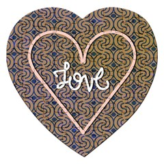 I Love You Love Background Jigsaw Puzzle (heart)
