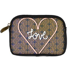 I Love You Love Background Digital Camera Cases by Simbadda