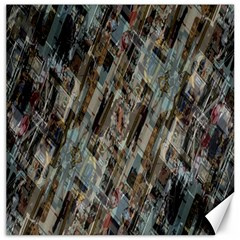 Abstract Chinese Background Created From Building Kaleidoscope Canvas 20  X 20