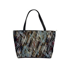 Abstract Chinese Background Created From Building Kaleidoscope Shoulder Handbags by Simbadda