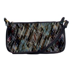 Abstract Chinese Background Created From Building Kaleidoscope Shoulder Clutch Bags by Simbadda