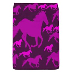 Pink Horses Horse Animals Pattern Colorful Colors Flap Covers (s)