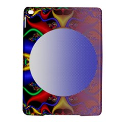 Texture Circle Fractal Frame Ipad Air 2 Hardshell Cases by Simbadda