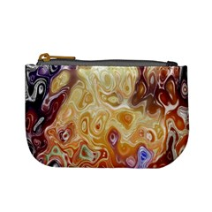 Space Abstraction Background Digital Computer Graphic Mini Coin Purses by Simbadda