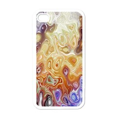 Space Abstraction Background Digital Computer Graphic Apple Iphone 4 Case (white)