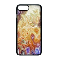 Space Abstraction Background Digital Computer Graphic Apple Iphone 7 Plus Seamless Case (black) by Simbadda