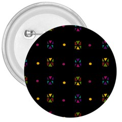 Abstract A Colorful Modern Illustration Black Background 3  Buttons by Simbadda