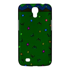 Green Abstract A Colorful Modern Illustration Samsung Galaxy Mega 6 3  I9200 Hardshell Case