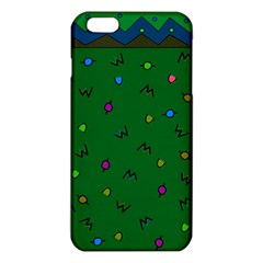 Green Abstract A Colorful Modern Illustration Iphone 6 Plus/6s Plus Tpu Case by Simbadda