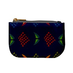 Abstract A Colorful Modern Illustration Mini Coin Purses