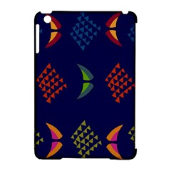 Abstract A Colorful Modern Illustration Apple Ipad Mini Hardshell Case (compatible With Smart Cover) by Simbadda