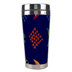 Abstract A Colorful Modern Illustration Stainless Steel Travel Tumblers by Simbadda