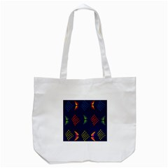 Abstract A Colorful Modern Illustration Tote Bag (white)