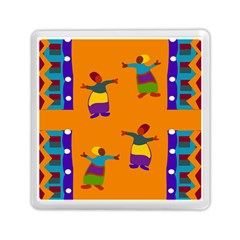 A Colorful Modern Illustration For Lovers Memory Card Reader (square)  by Simbadda