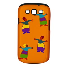 A Colorful Modern Illustration For Lovers Samsung Galaxy S Iii Classic Hardshell Case (pc+silicone) by Simbadda
