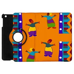 A Colorful Modern Illustration For Lovers Apple Ipad Mini Flip 360 Case by Simbadda