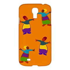 A Colorful Modern Illustration For Lovers Samsung Galaxy S4 I9500/i9505 Hardshell Case by Simbadda