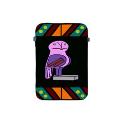 Owl A Colorful Modern Illustration For Lovers Apple Ipad Mini Protective Soft Cases by Simbadda