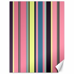 Seamless Colorful Stripes Pattern Background Wallpaper Canvas 18  X 24   by Simbadda