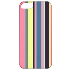 Seamless Colorful Stripes Pattern Background Wallpaper Apple Iphone 5 Classic Hardshell Case