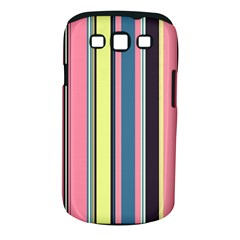 Seamless Colorful Stripes Pattern Background Wallpaper Samsung Galaxy S Iii Classic Hardshell Case (pc+silicone)