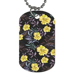 Wildflowers Ii Dog Tag (one Side)