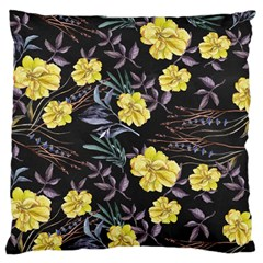 Wildflowers Ii Large Cushion Case (one Side)