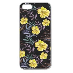 Wildflowers Ii Apple Seamless Iphone 5 Case (clear)