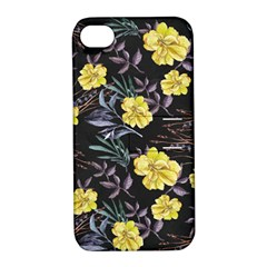 Wildflowers Ii Apple Iphone 4/4s Hardshell Case With Stand