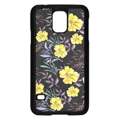 Wildflowers Ii Samsung Galaxy S5 Case (black) by tarastyle