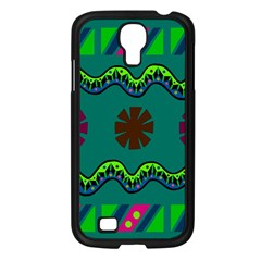 A Colorful Modern Illustration Samsung Galaxy S4 I9500/ I9505 Case (black) by Simbadda