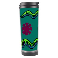 A Colorful Modern Illustration Travel Tumbler by Simbadda