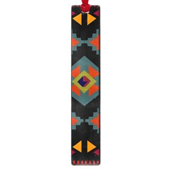 Abstract A Colorful Modern Illustration Large Book Marks by Simbadda