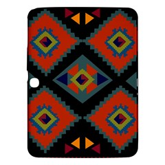 Abstract A Colorful Modern Illustration Samsung Galaxy Tab 3 (10 1 ) P5200 Hardshell Case  by Simbadda