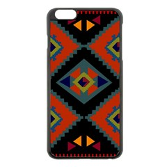 Abstract A Colorful Modern Illustration Apple Iphone 6 Plus/6s Plus Black Enamel Case by Simbadda