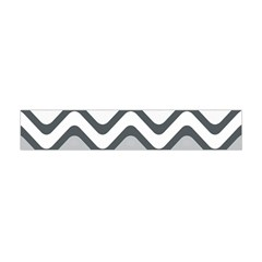 Shades Of Grey And White Wavy Lines Background Wallpaper Flano Scarf (mini) by Simbadda