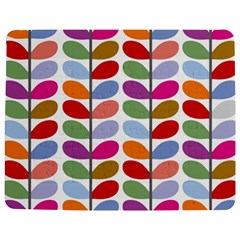 Colorful Bright Leaf Pattern Background Jigsaw Puzzle Photo Stand (rectangular) by Simbadda