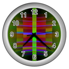 Galileo Galilei Reincarnation Abstract Character Wall Clocks (silver)