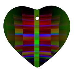 Galileo Galilei Reincarnation Abstract Character Heart Ornament (two Sides) by Simbadda