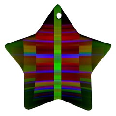 Galileo Galilei Reincarnation Abstract Character Star Ornament (two Sides)