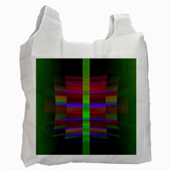 Galileo Galilei Reincarnation Abstract Character Recycle Bag (two Side)  by Simbadda