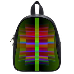Galileo Galilei Reincarnation Abstract Character School Bags (small)  by Simbadda