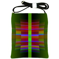 Galileo Galilei Reincarnation Abstract Character Shoulder Sling Bags by Simbadda