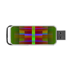 Galileo Galilei Reincarnation Abstract Character Portable Usb Flash (two Sides) by Simbadda