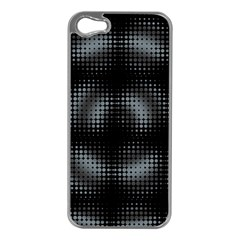 Circular Abstract Blend Wallpaper Design Apple Iphone 5 Case (silver)
