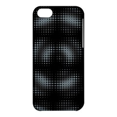 Circular Abstract Blend Wallpaper Design Apple Iphone 5c Hardshell Case by Simbadda